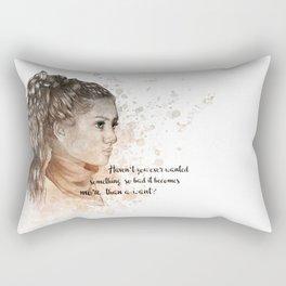 Amani (Rebel of the sands) Rectangular Pillow