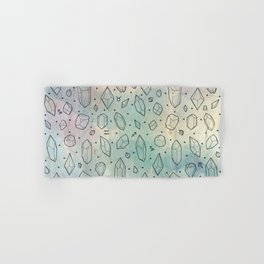 Crystals & Constellations Hand & Bath Towel