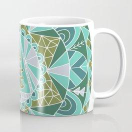 Holiday Winter Tree Mandala Coffee Mug