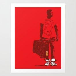 Radio Raheem 2 Art Print