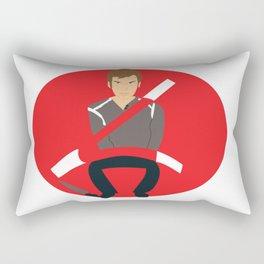 Breaking the Bad Chicken Rectangular Pillow