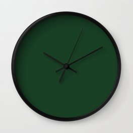 Simply Solid - Eden Green Wall Clock