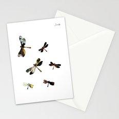 Libellules Jacob's 1968 fashion Paris Stationery Cards