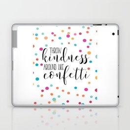 PRINTABLE WALL ART, Throw Kindness Around Like Confetti,Confetti Quote,Quote Prints,Kids Room Decor, Laptop & iPad Skin