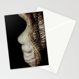 Flesh and Bone Suspended ~ Vertical Image Stationery Cards