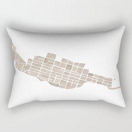 Telluride Colorado Map Rectangular Pillow