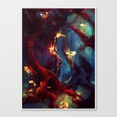 TreeFish Canvas Print