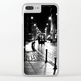 Night train Clear iPhone Case