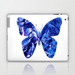 Fluid Butterfly (Blue Version) Laptop & iPad Skin