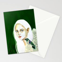 The message of the hummingbird Stationery Cards