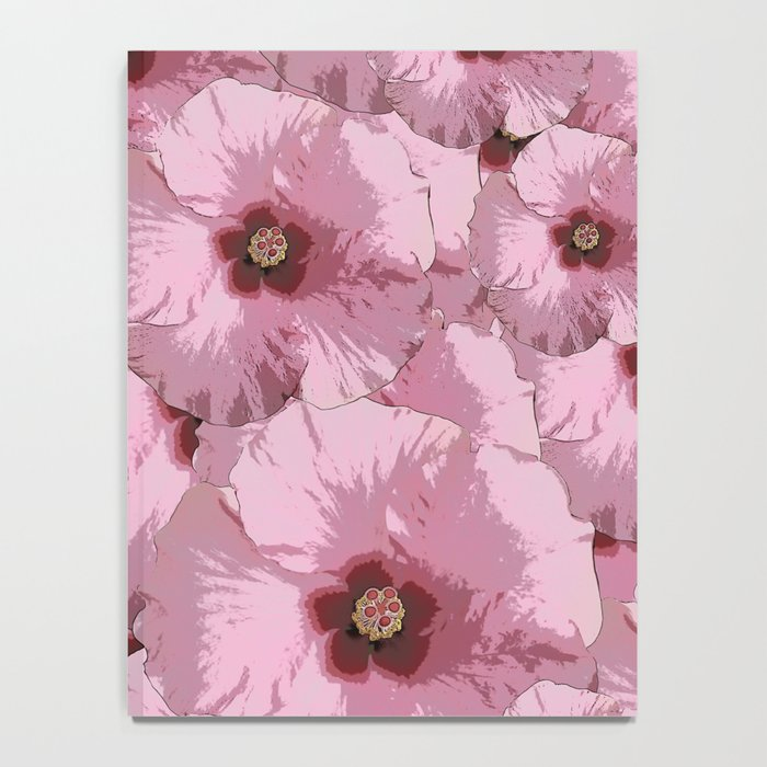Pink Hibiscus World Notebook