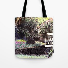 Pointy Garden Tote Bag