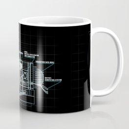 The Z-Machinery - Technical Blueprint Coffee Mug