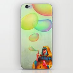 Bubbles of Color iPhone Skin