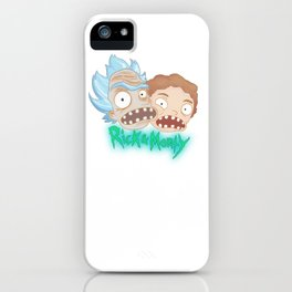 Rick & Morty iPhone Case