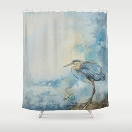 Shore Bird 8664 Shower Curtain