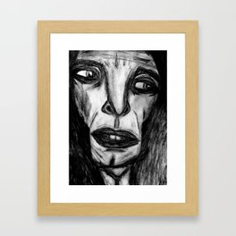 Visibility's Disguise. Framed Art Print