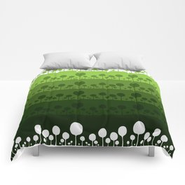 Green palette ultimate Comforters