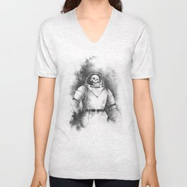 The Spooky Kook from Outer Space Unisex V-Neck