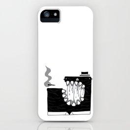 Zombie Boss iPhone Case