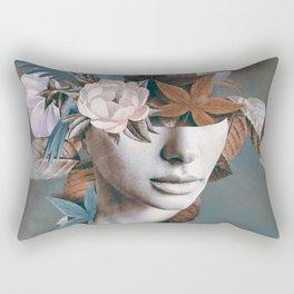 Floral Portrait 11 Rectangular Pillow