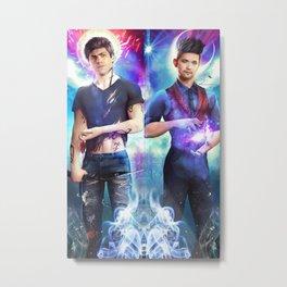 Dakimakura Magnus & Alec Metal Print