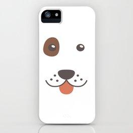 Dog Emoji Bloodhound Gift Idea iPhone Case