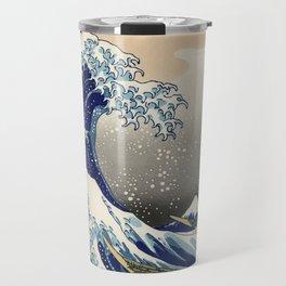 "Katsushika Hokusai ""The Great Wave off Kanagawa"" Travel Mug"