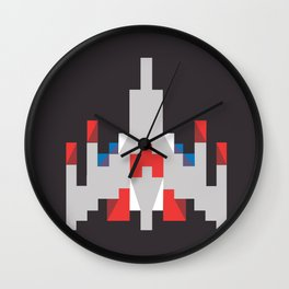 Holy Galaga Wall Clock