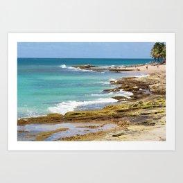 Condado Beach Art Print