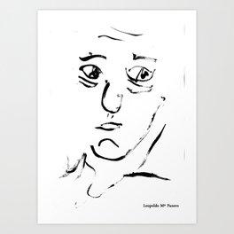 Leopoldo Maria Panero Art Print