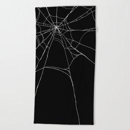 Spiderweb Beach Towel