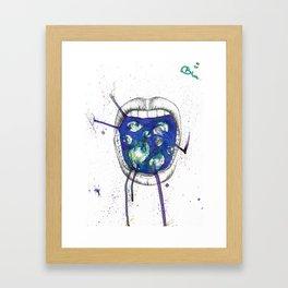 Inner Cosmos Framed Art Print