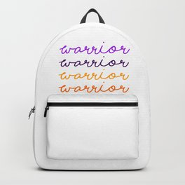 Warrior Script Backpack