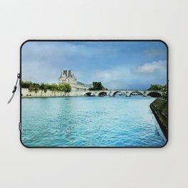 Seine River - Paris France Laptop Sleeve