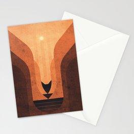 Titan - Lakes of Titan Stationery Cards