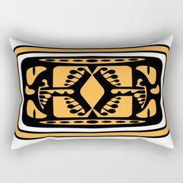 Tiki Rabbit Rectangular Pillow