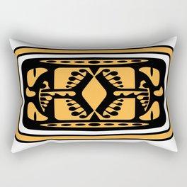 Tiki Rabbit Rectangular Pillow