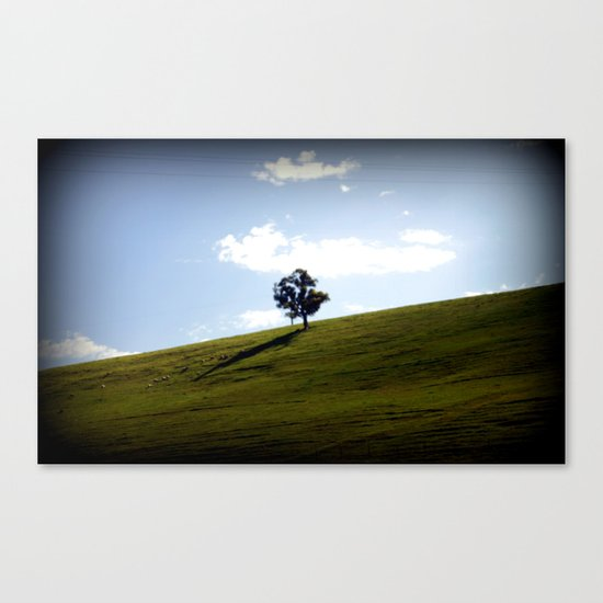 Valley of a Thousand Hills  Canvas Print
