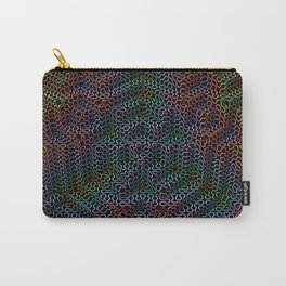 Psychedelic Pyramid Carry-All Pouch