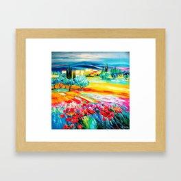 escape in Landscape  Framed Art Print