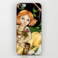 sagittarius iPhone & iPod Skins featuring Sagittarius by Paula Ellenberger
