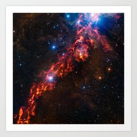 Cosmic Couds in the Orion Nebula Art Print