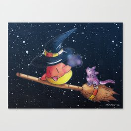 Sweet Tooth Spellcast Canvas Print