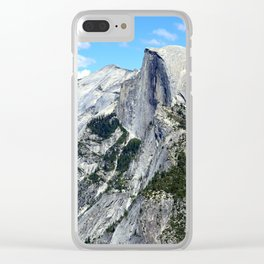 Half Dome View Clear iPhone Case