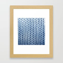 knitwit: baby blue Framed Art Print