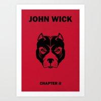 John Wick Chapter 2 Alternative Poster Art Print