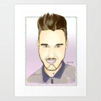 Portrait of Liam Art Print