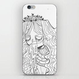 Zombie Bride Illustration iPhone Skin