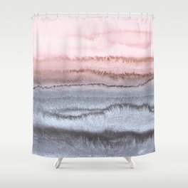 WITHIN THE TIDES - SCANDI LOVE Shower Curtain